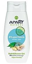 Parfums et Produits cosmétiques Gel bain et douche au concombre et gingembre - Apart Natural Superfoods Cucumber and Ginger