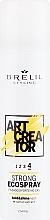 Parfums et Produits cosmétiques Spray fixation forte à l'extrait de cactus pour cheveux - Brelil Art Creator Strong Ecospray