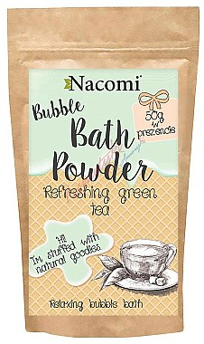 Poudre de bain au thé vert - Nacomi Bath Powder