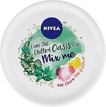 Parfums et Produits cosmétiques Crème à l'huile de graines de jojoba pour visage - Nivea Soft Mix Me Oasis Krem