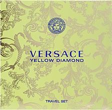 Parfums et Produits cosmétiques Versace Yellow Diamond - Coffret (eau de toilette/90ml + lotion corps/100ml)