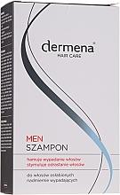 Parfums et Produits cosmétiques Shampooing stimulant à l'extrait de chicorée sauvage - Dermena Hair Care Men Shampoo