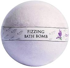 Parfums et Produits cosmétiques Bombe de bain pétillante, Lavande - Kanu Nature Bath Bomb Lavender