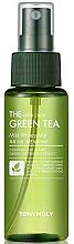 Parfums et Produits cosmétiques Brume à l'extrait de thé vert pour visage - Tony Moly The Chok Chok Green Tea Mild Watery Mist
