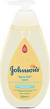 Parfums et Produits cosmétiques Gel lavant corps et cheveux pour bébé - Johnson's Baby Top-To-Toe Wash Gel