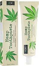 Parfums et Produits cosmétiques Dentifrice au charbon actif et huile de chanvre - Xpel Marketing Ltd Oral Care Cleansing Charcoal Toothpaste