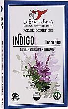 Parfums et Produits cosmétiques Poudre naturelle pour cheveux, indigo (Henné noir) - Le Erbe di Janas Indigo (Black Henna)