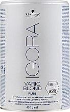 Parfums et Produits cosmétiques Poudre éclaircissante compacte bleue effet déjaunissant - Schwarzkopf Professional Igora Vario Blond Plus