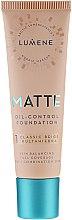 Parfums et Produits cosmétiques Fond de teint matifiant - Lumene Matte Oil-control Foundation