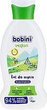 Parfums et Produits cosmétiques Gel douche aux extraits de feuilles d'olive et eau d'aloès - Bobini Vegan Gel
