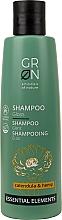 Parfums et Produits cosmétiques Shampooing au calendula et chanvre - GRN Essential Elements Brillance Calendula & Hemp Shampoo