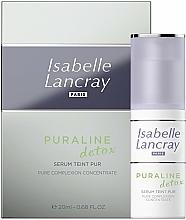 Parfums et Produits cosmétiques Sérum détoxifiant à l'extrait de konjac pour visage - Isabelle Lancray Puraline Detox Pure Complexion Concentrate