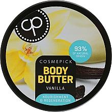 Parfums et Produits cosmétiques Baume à l'extrait de vanille pour corps - Cosmepick Body Butter Vanilla