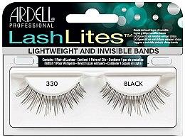 Parfums et Produits cosmétiques Faux-cils à bande adhésive invisible - Ardell LashLites Black 330