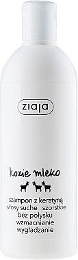 Shampooing au lait de chèvre et kératine - Ziaja Goat's Milk Strenghtening Nourishing Shampoo With Keratin