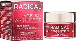 Parfums et Produits cosmétiques Crème de nuit anti-rides à l'huile de coco - Farmona Radical Age Architect Nourishing Anti Wrinkle Cream