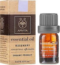 Parfums et Produits cosmétiques Huile essentielle de romarin bio 100% naturelle - Apivita Aromatherapy Organic Rosemary Oil