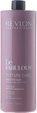 Shampooing au panthénol - Revlon Professional Be Fabulous Texture Care Smooth Shampoo — Photo N1