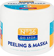 Parfums et Produits cosmétiques Masque-gommage 2 en 1 pour pieds - Pharma CF No.36 Peeling & Mask