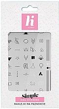 Parfums et Produits cosmétiques Autocollants pour ongles - Hi Hybrid Simple Nail Stickers