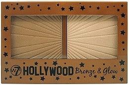 Parfums et Produits cosmétiques Bronzant et enlumineur pour visage - W7 Hollywood Bronze & Glow