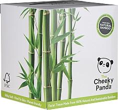 Parfums et Produits cosmétiques Mouchoirs de bambou naturel, 56 pcs - Cheeky Panda Bamboo Facial Tissue Cube