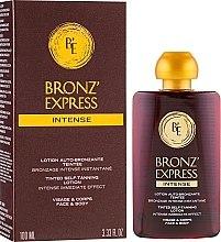 Parfums et Produits cosmétiques Lotion autobronzante intense pour visage et corps - Academie Bronz'Express Intense Lotion