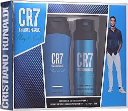 Parfums et Produits cosmétiques Cristiano Ronaldo CR7 Play It Cool - Set (gel douche/200ml + déodorant spray/150ml)