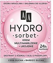 Parfums et Produits cosmétiques Crème à l'extrait d'acérola pour visage - AA Hydro Sorbet Moisturising & Nutrition Cream