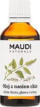 Parfums et Produits cosmétiques Huile de graines de chia pour visage, corps et cheveux - Maudi