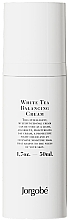 Parfums et Produits cosmétiques Crème au thé blanc pour visage - Jorgobe White Tea Balancing Cream