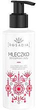 Parfums et Produits cosmétiques Lait démaquillant à l'huile de rose sauvage, rosier et lavande - Rosadia