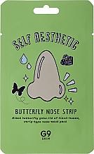 Parfums et Produits cosmétiques Patchs purifiants au charbon pour nez - G9Skin Self Aesthetic Butterfly Nose Strip