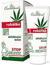 Parfums et Produits cosmétiques Crème apaisante au chanvre pour peaux sensibles et irritées - Cannaderm Robatko