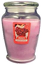 Parfums et Produits cosmétiques Bougie parfumée en jarre Pétales de rose - Airpure Precious Petals Scented Candle