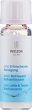 Parfums et Produits cosmétiques Lotion tonique à l'extrait d'hamamélis (mini) - Weleda 2in1 Erfrischende Reinigung Milch