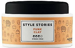 Parfums et Produits cosmétiques Pommade coiffante, fixation forte - Alfaparf Style Stories Funk Clay Strong Hold