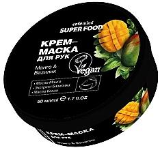 Parfums et Produits cosmétiques Crème-masque pour main, mangue et basilic - Cafe Mimi Super Food