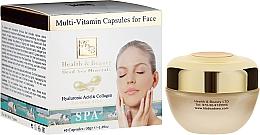 Parfums et Produits cosmétiques Capsules multivitaminées à l'acide hyaluronique pour visage - Health And Beauty Multi-Vitamin Capsules For Face