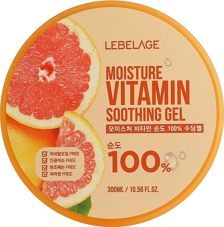 Gel au pamplemousse pour visage - Lebelage Moisture Vitamin 100% Soothing Gel — Photo N1