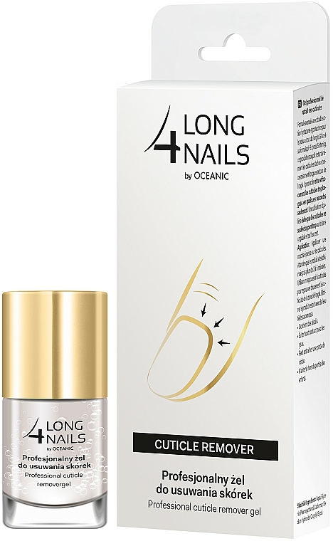 Émollient cuticules - Long4Lashes Nails Cuticle Remover