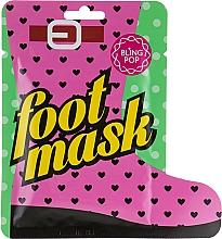 Parfums et Produits cosmétiques Masque au beurre de karité pour pieds - Bling Pop Shea Butter Healing Foot Mask