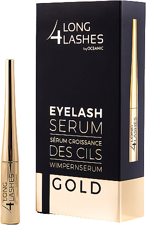 Sérum stimulant la croissance des cils - Long4lashes EyeLash Gold Serum