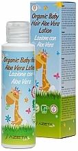 Parfums et Produits cosmétiques Lotion à l'aloe vera pour cheveux - Azeta Bio Organic Baby Hair Aloe Vera Lotion