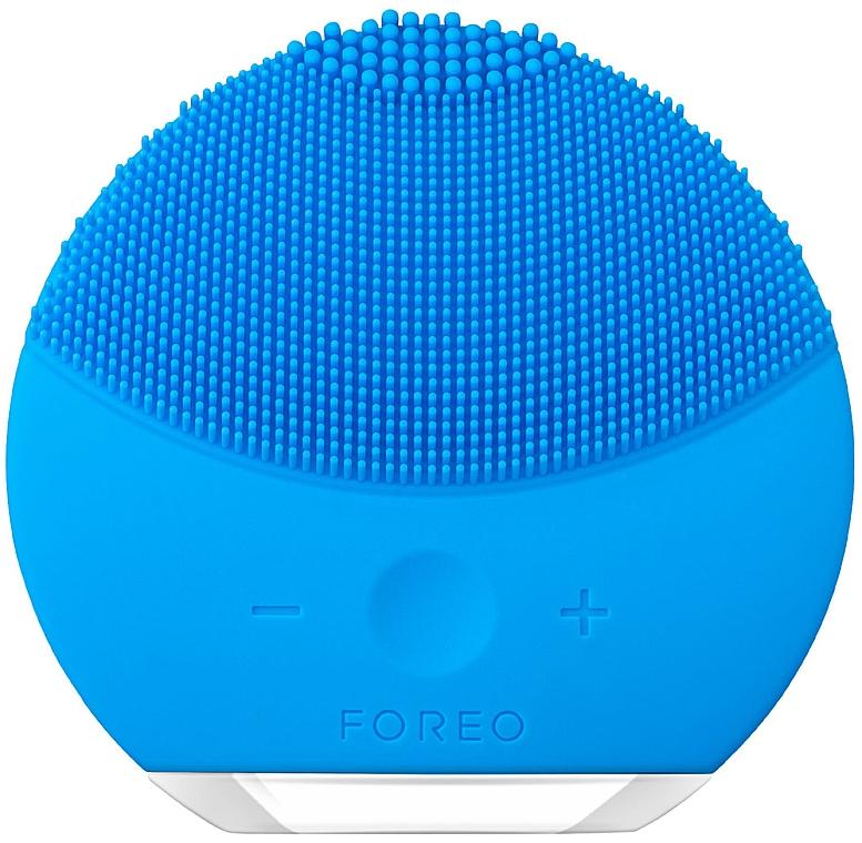 Brosse de nettoyage et massage spa à intensité réglable - Foreo Luna Mini 2 Aquamarine