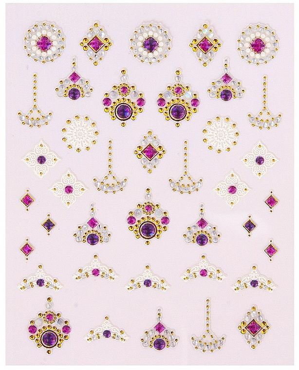 Autocollants décoratifs pour ongles, 1 pcs - Peggy Sage Decorative Nail Stickers Luxury