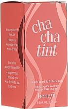 Parfums et Produits cosmétiques Blush liquide pour lèvres et joues, couleur mangue (mini) - Benefit Chachatint