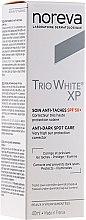 Parfums et Produits cosmétiques Soin de jour anti-taches pigmentaires - Noreva Laboratoires Trio White XP Anti-Dark Spot Care SPF 50+