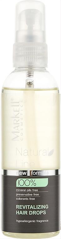 Gouttes revitalisantes pour cheveux - Markell Cosmetics Natural Line  — Photo N1