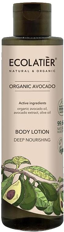 Lait à l'huile d'avocat bio pour corps - Ecolatier Organic Avocado Body Lotion — Photo N1